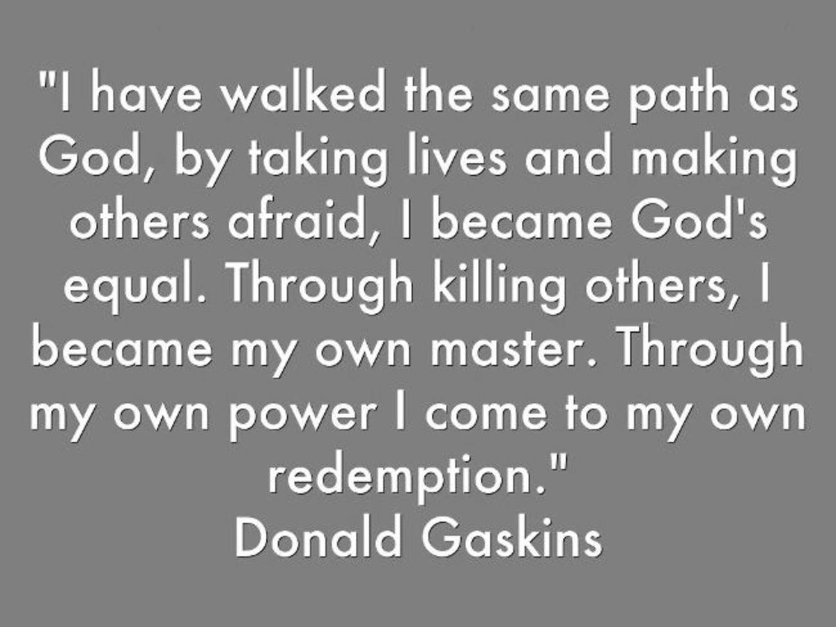 Statement of Gaskins