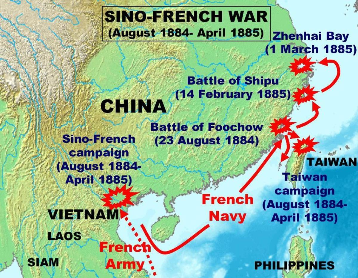 Fighting during the Sino-French War