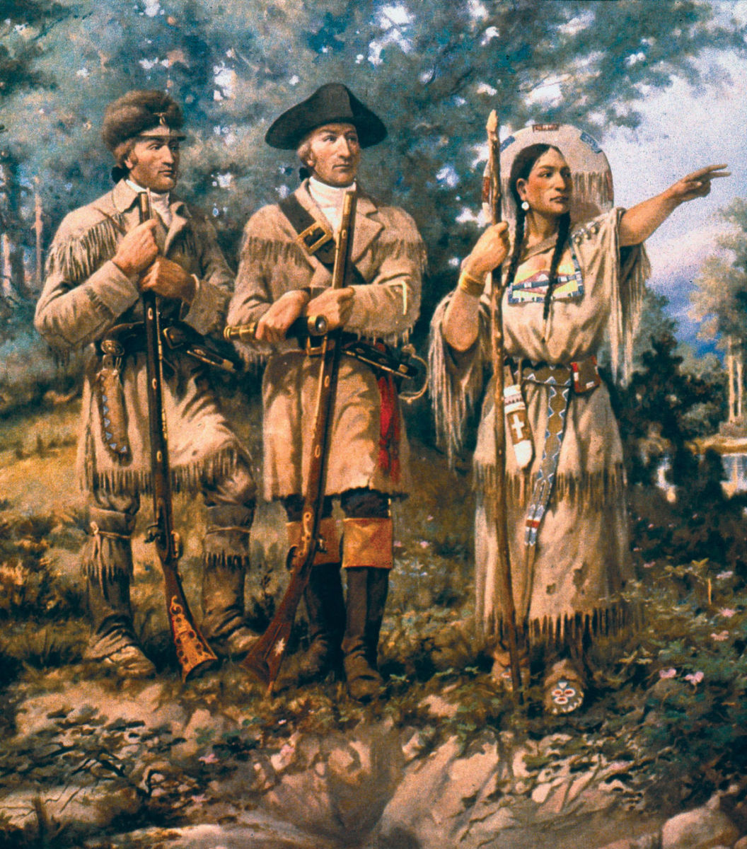 Sacagawea, The Guide, the Wife, the Mother