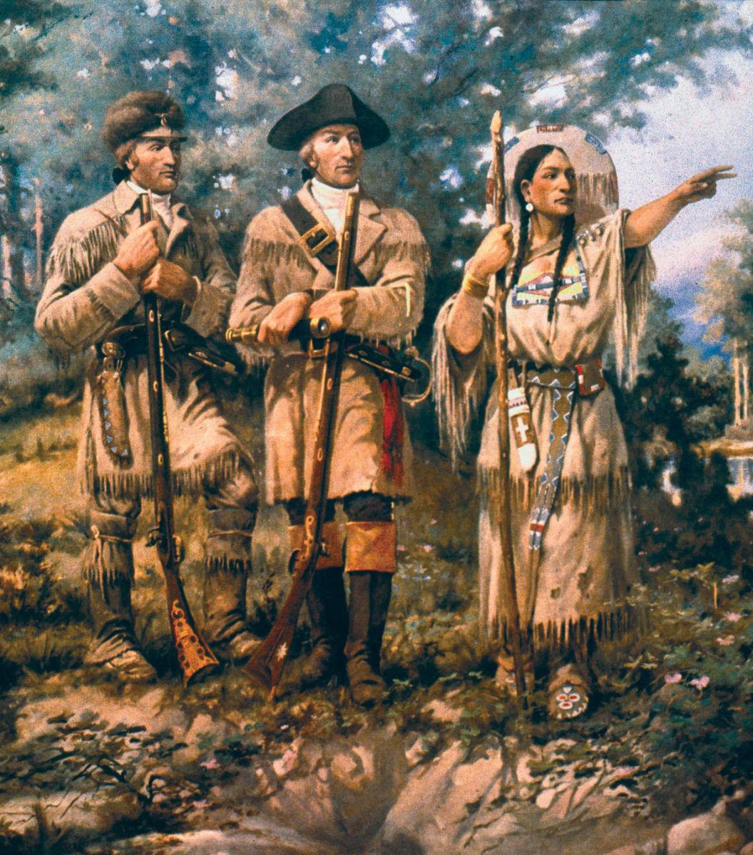 Sacagawea on the Expedition