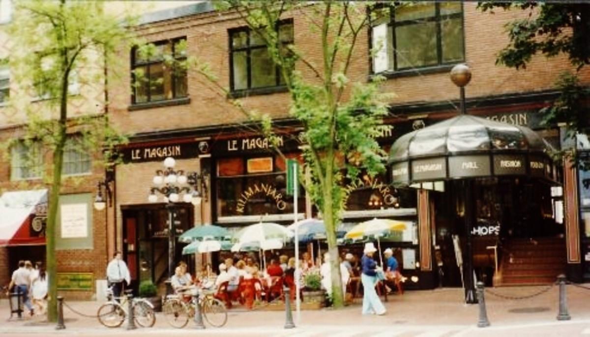 Historic Gastown street