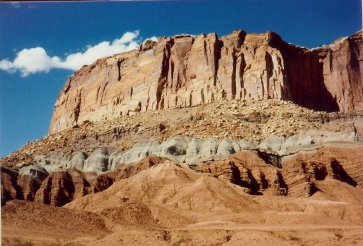 Visiting the Beautiful Capitol Reef National Park in Utah
