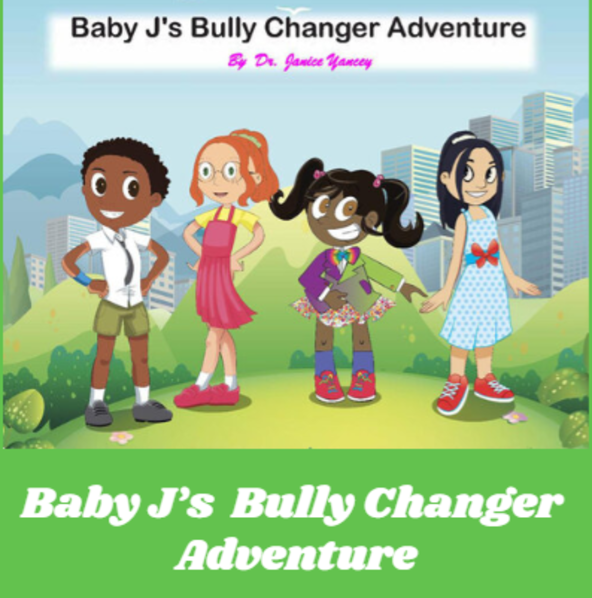 Baby J's friend Mona is bullied. Baby J is brave and stands up to Mona's bully. She teaches the bully about treating others fairly and with respect.