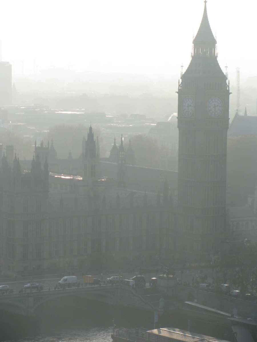 Big Ben in the Mist - how does this make you feel?