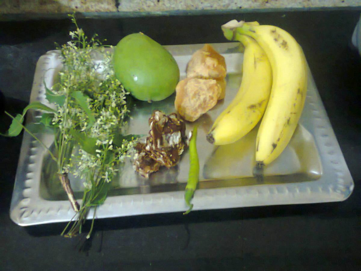 Items required for Ugadi Pachadi