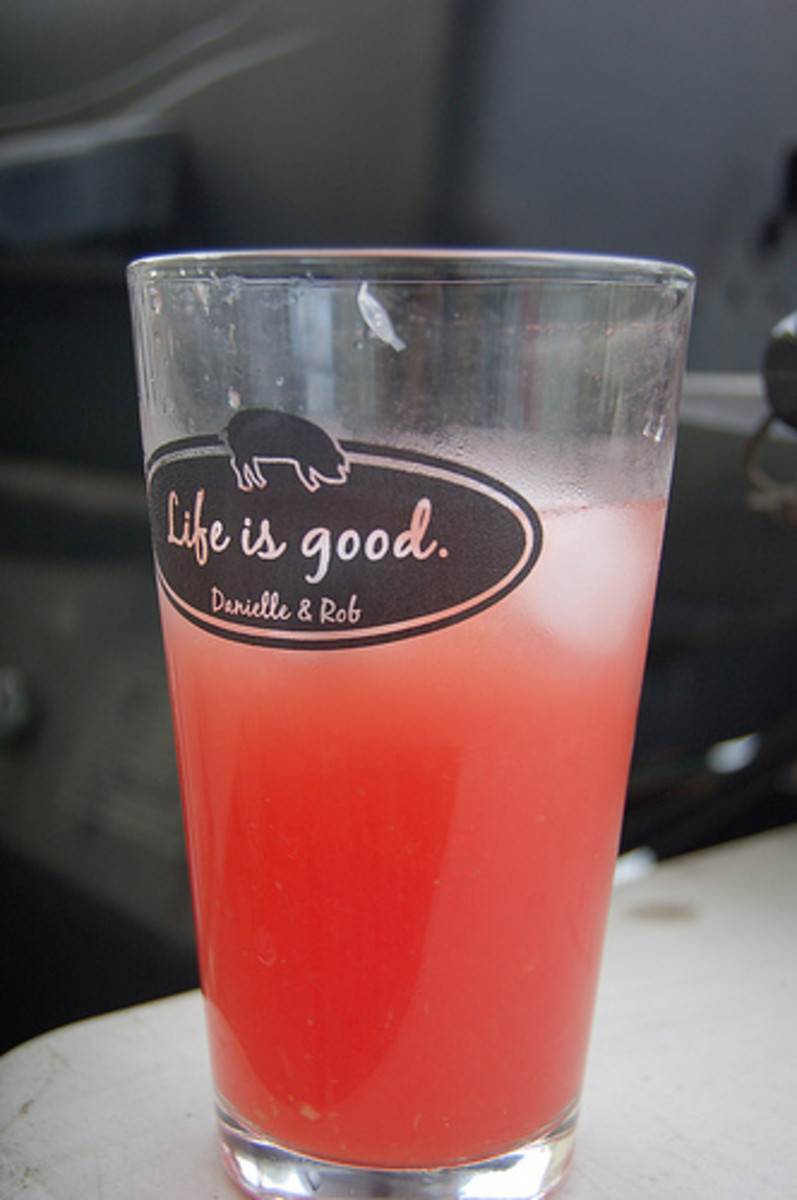 Try making some nutritious watermelon juice from some of your harvest.