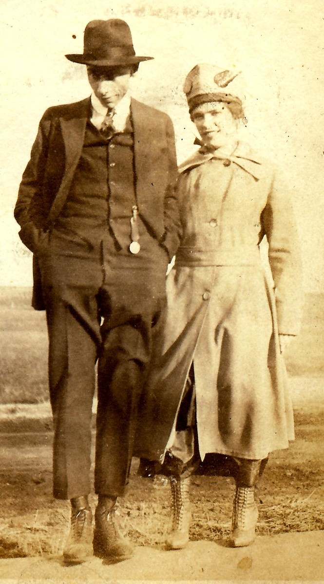 My husband's grandparents
