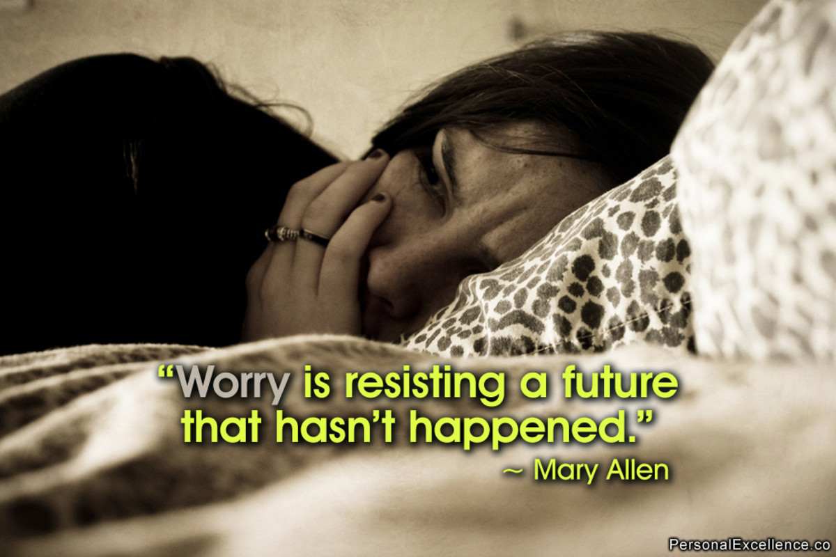 Are your worries causing you to stress out?