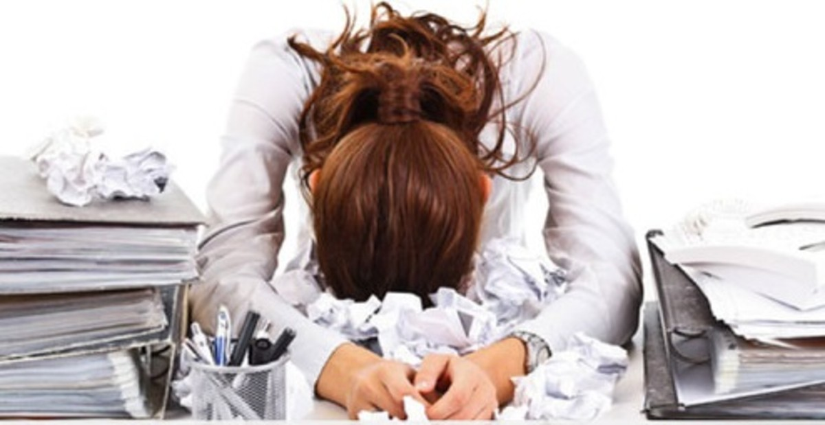Has stressed got you down? Check out these stress symptoms and see if you feel identified.