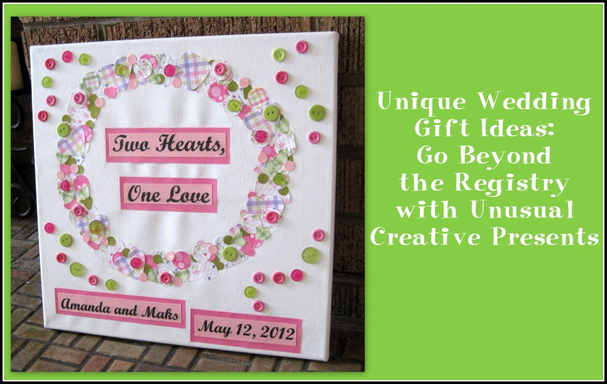 Wedding Gift Ideas If No Registry : Unique Wedding Gift Ideas: Go Beyond the Registry with Unusual ...