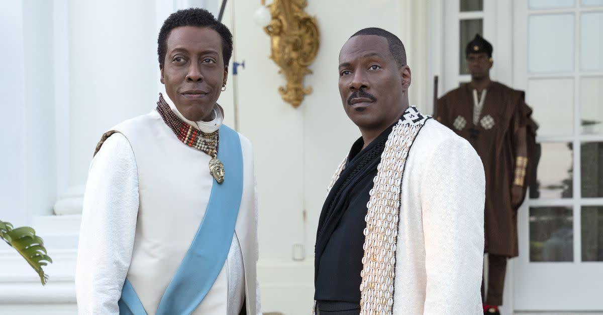 Prince Akeem and Semmi.