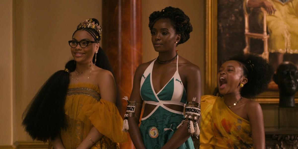 The three princesses.