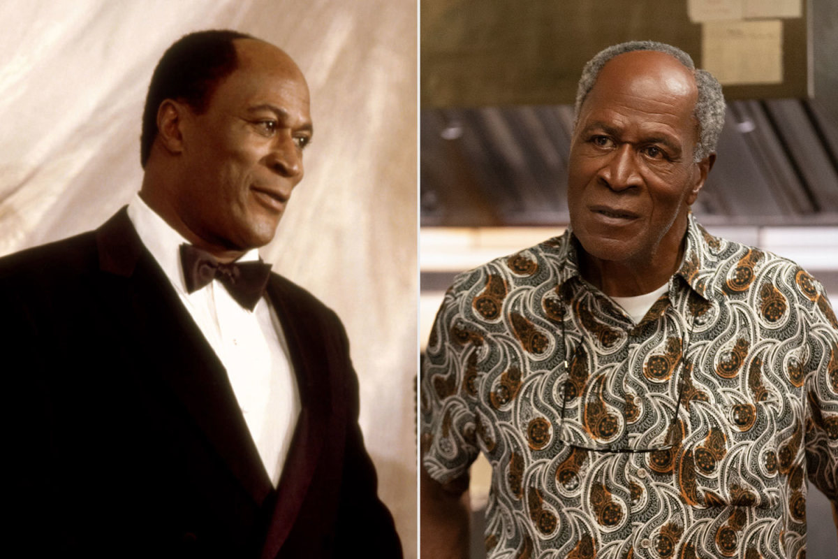 John Amos reprises his role as Cleo McDowell.