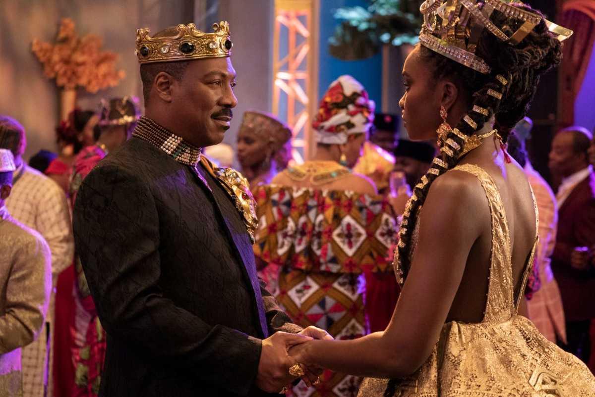 Akeem apologizes to Princess Meeka.