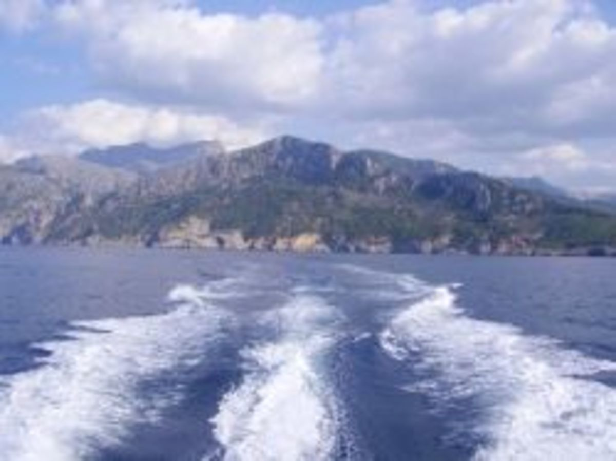Just coming out of the Puerto Soller