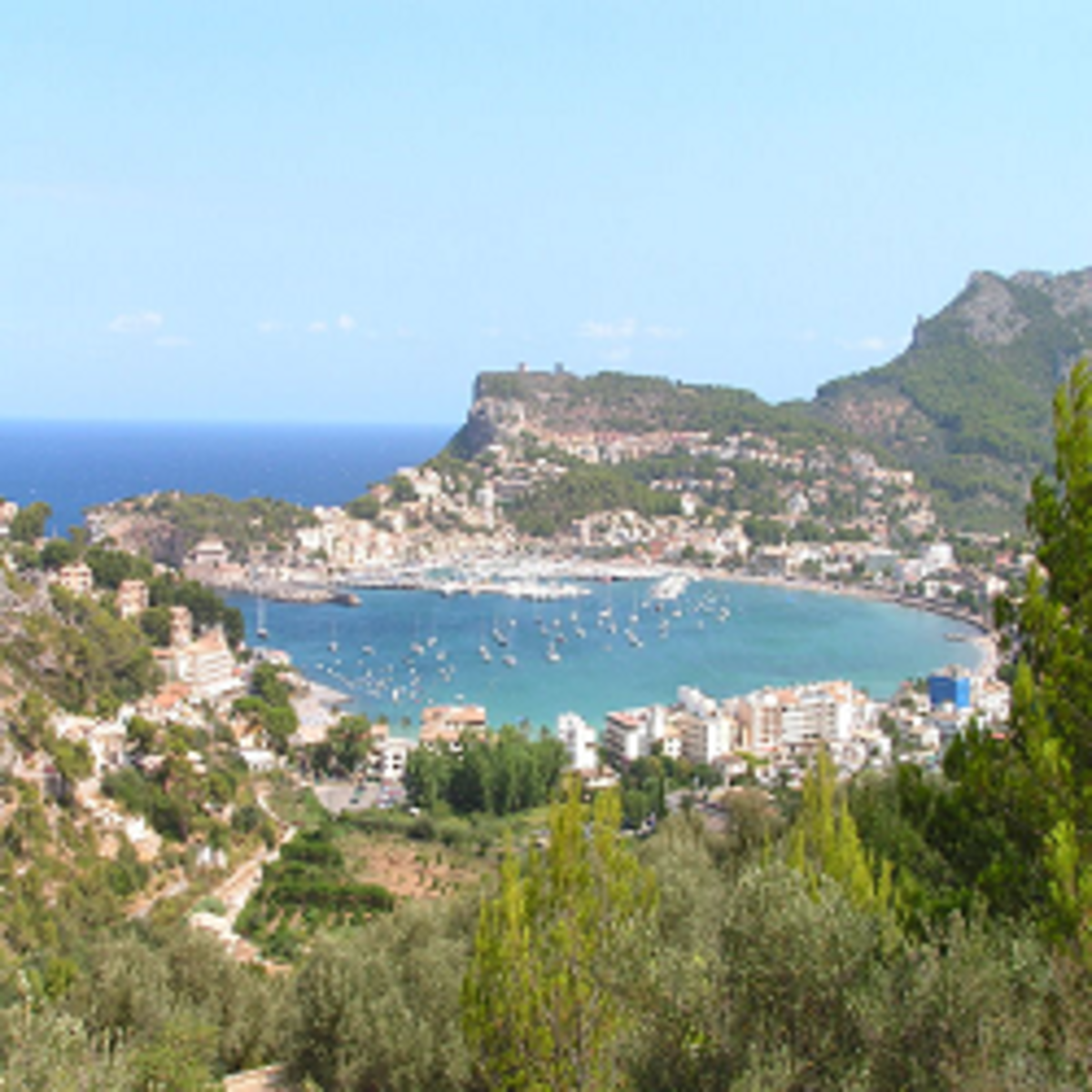 The Port of Soller in Mallorca by an English local