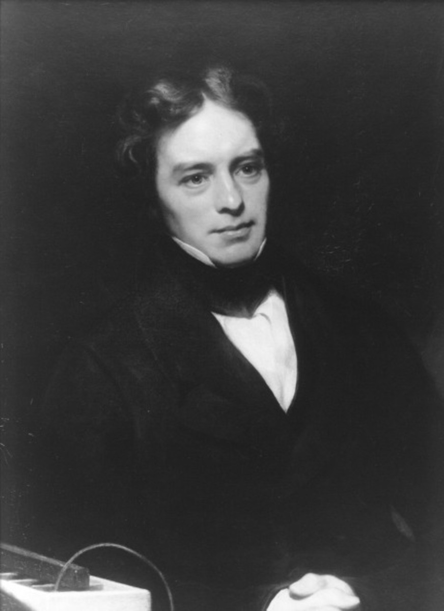 A young Michael Faraday