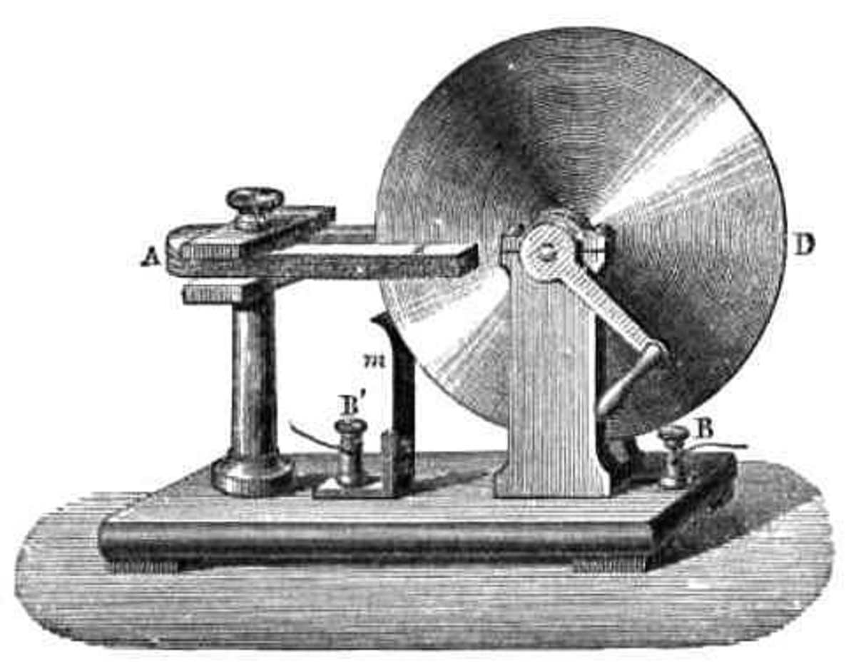Faraday's electric gnerator