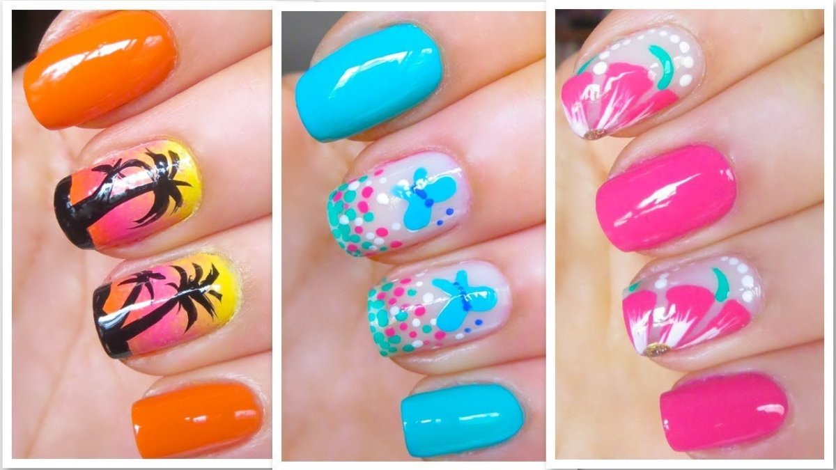 Cute Summer Nail Art Designs 2021