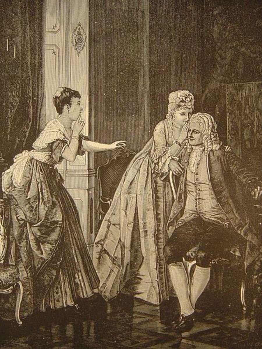 Le Secret - L'illustration Europeenne #22, p 173, 1871