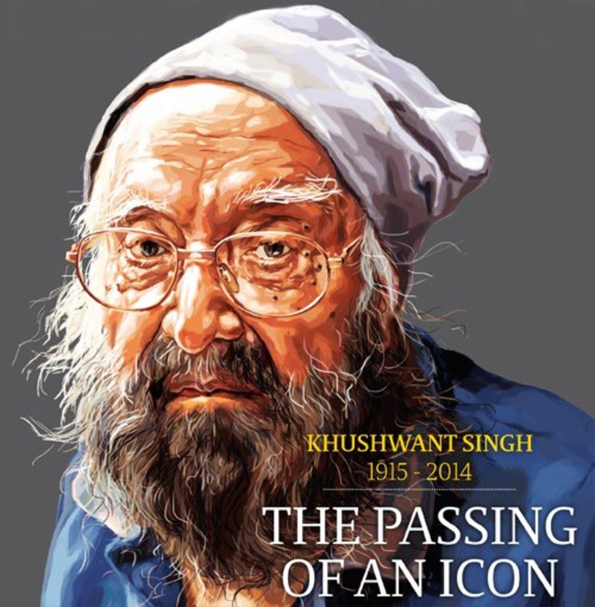 Kushwant Singh:  India's Own Top Writer in English Passes away at 99.