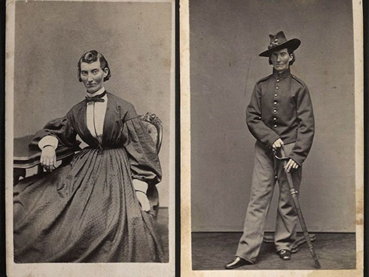 Frances Louisa Clayton disguised herself as a man so that she could fight in the civil war.