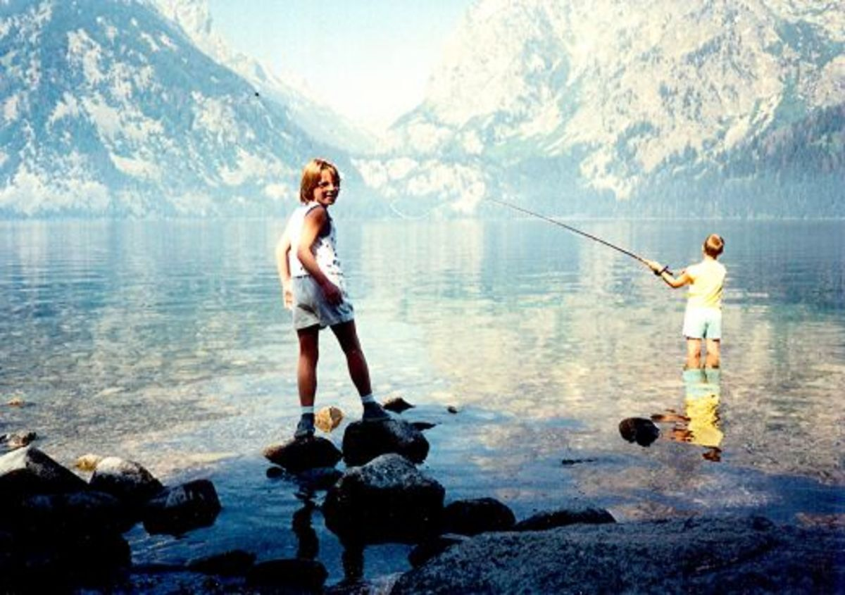 Leigh Lake in the Tetons
