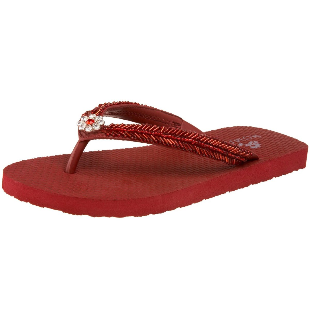 If flip flops are your style, you'll love these Ruby Red Flip Flops!