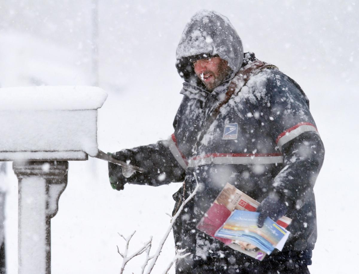 Six Snow Shockers For Former Fair-Weather Mailmen