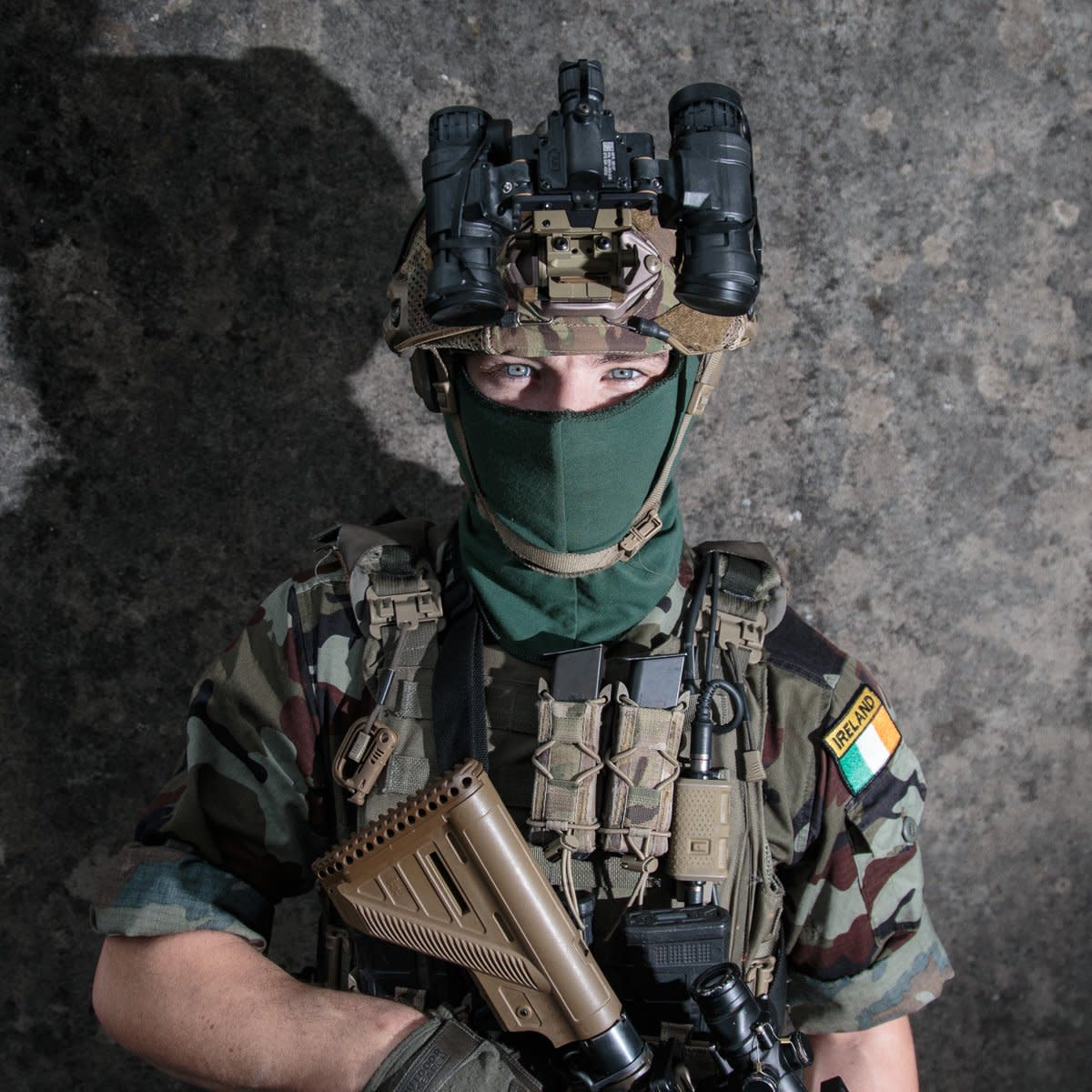 Who are The Irish Army Ranger Wing Special Forces?