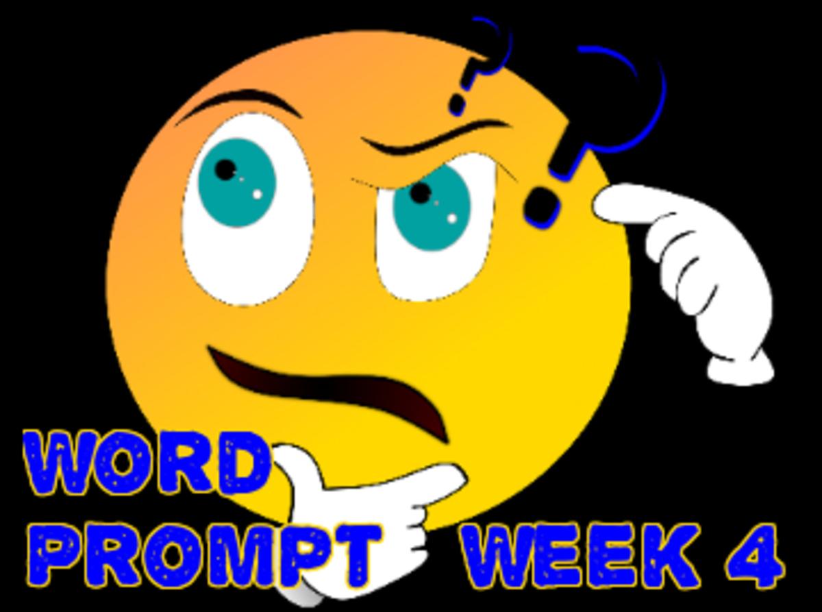 Poetry: Word Prompts Help Creativity / Week 4