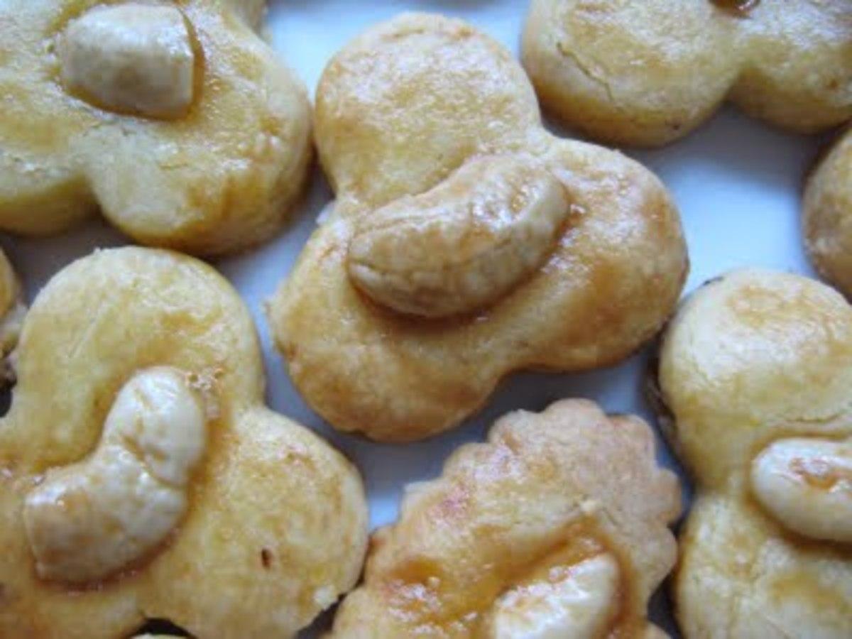 My Chewy Freshly Bake Cashew Cookies !!