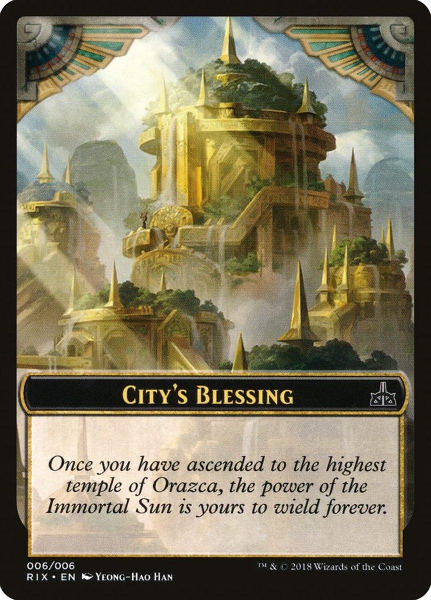 City's Blessing token mtg