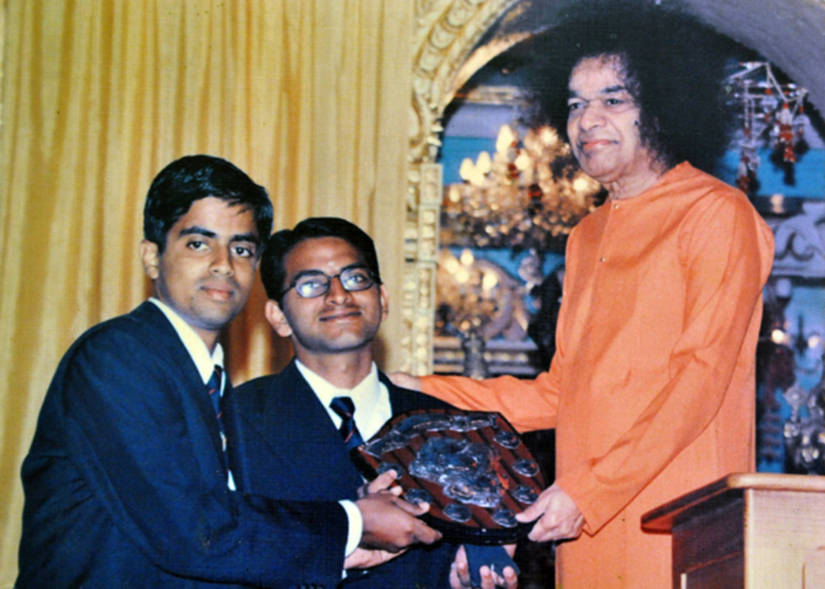 I wanted a 'shield' of another kind - one that I thought Swami did not give me on the 14th January, 2002.