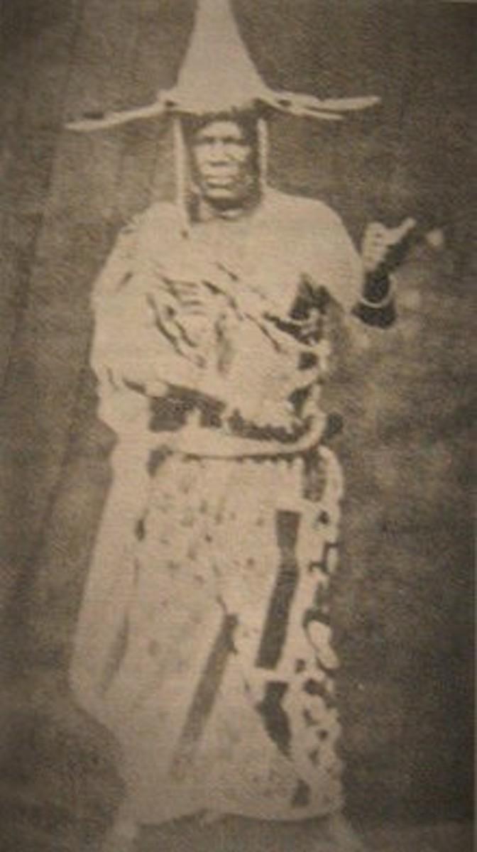 """King JaJa won't leff 'Becca 'lone, What 'Becca got is all she own"" Lyrics to Barbadian folk song about King JaJa of Opobo"