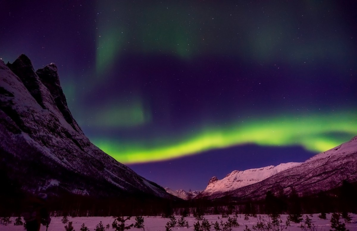 Northern Lights: Image by David Mark from Pixabay