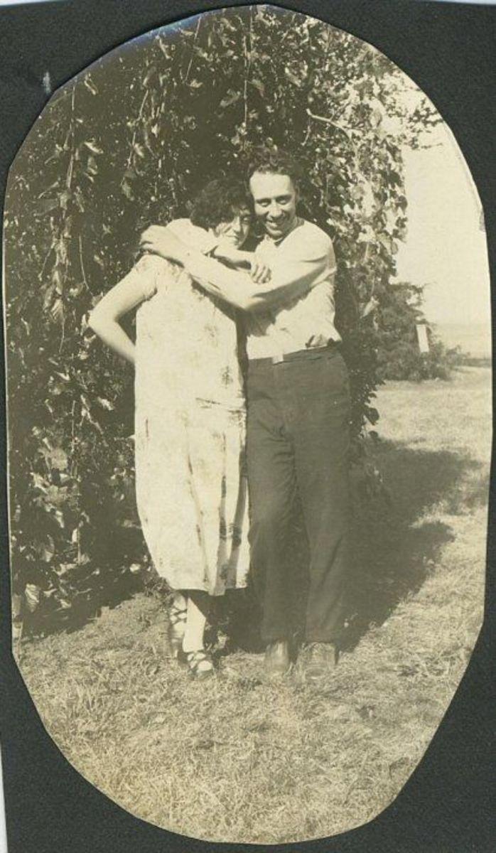 Wayne Manka and his wife