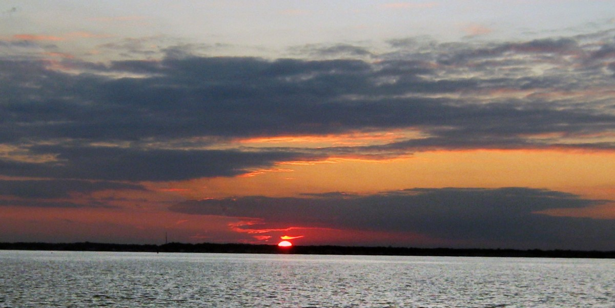 Sunset on the bay