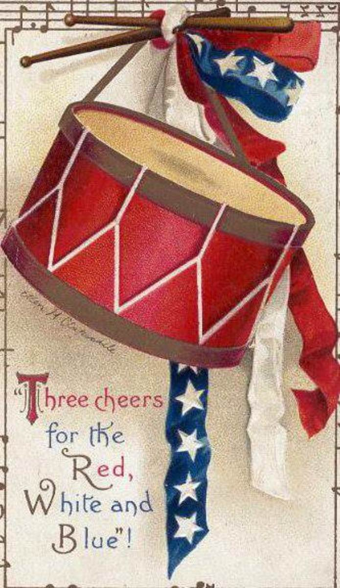 free cross stitch patterns patriotic drum