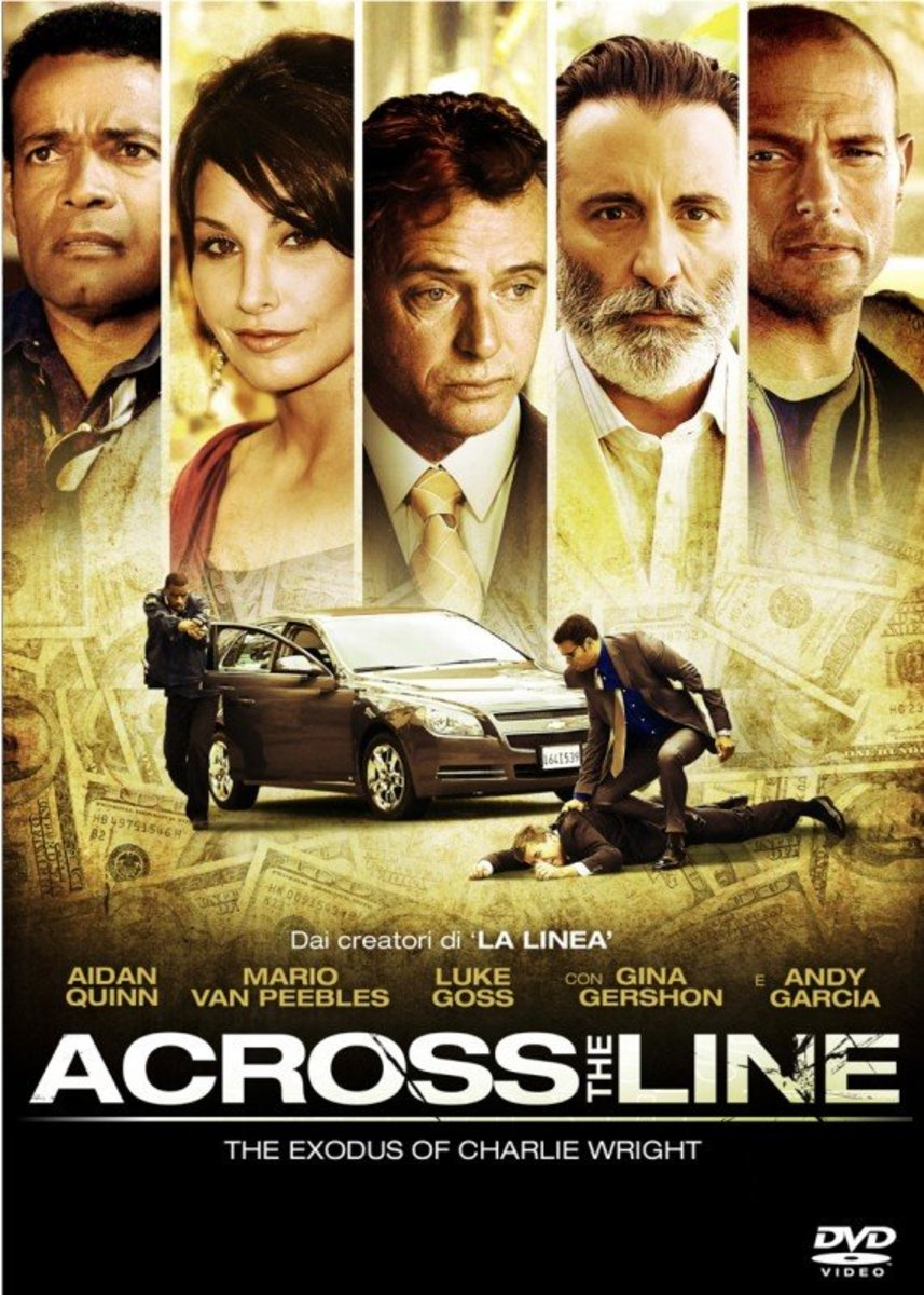 "Poster for movie ""Across the Line"""