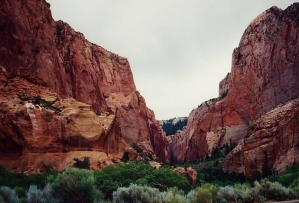 Zion National Park in Utah -  Monolithic Domed Splendor - Pictures!