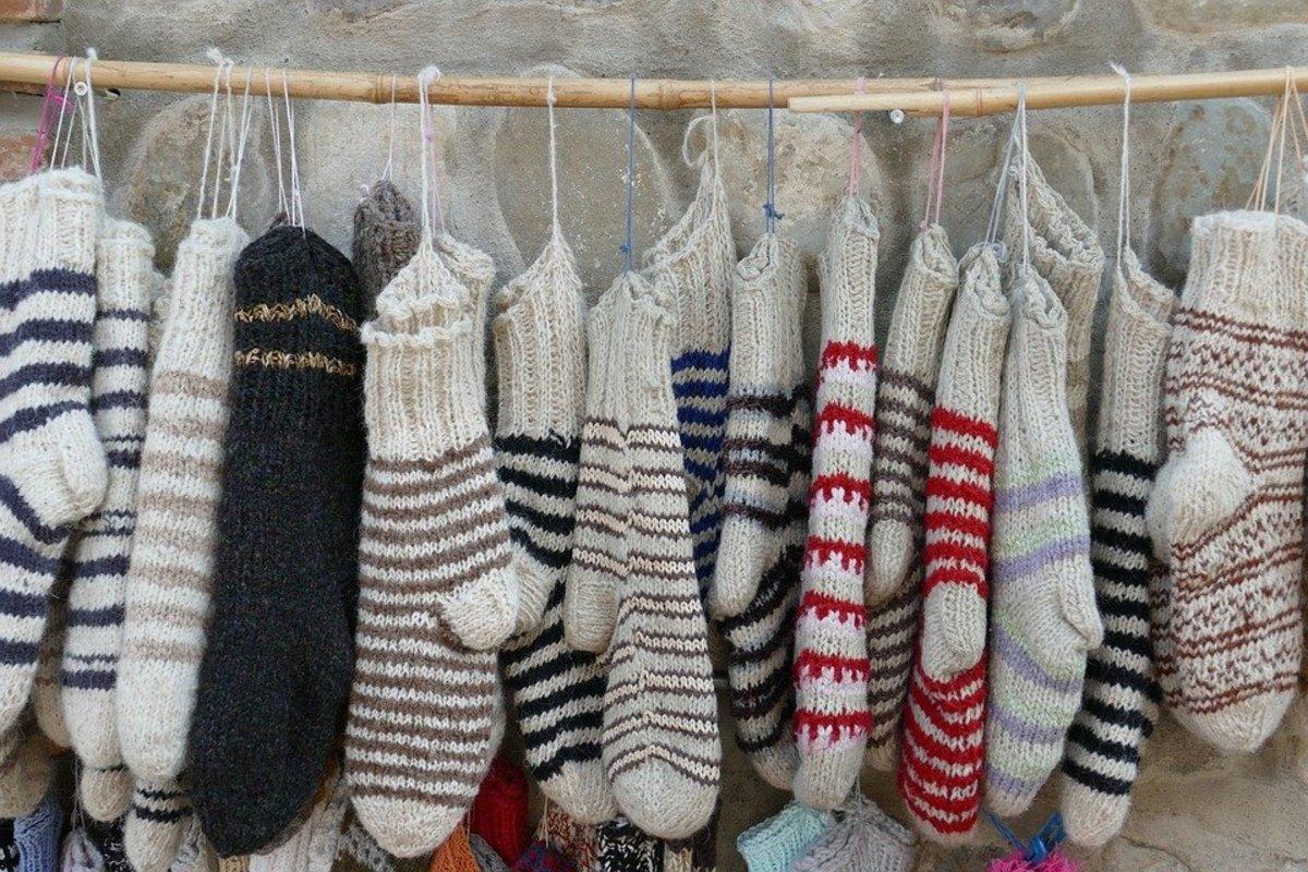 Knitting Scrappy Socks