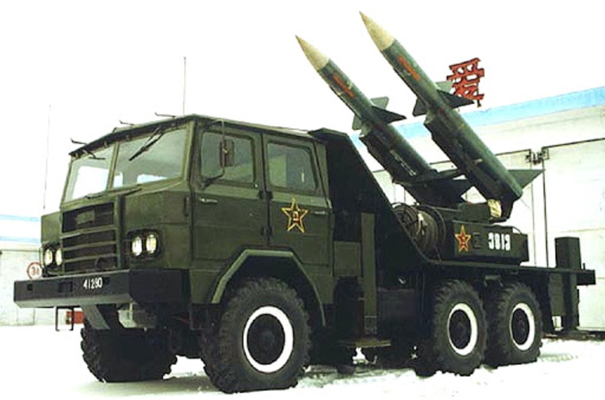 The HQ-61, an excellent anti-plane radar missile piece in Wargame.