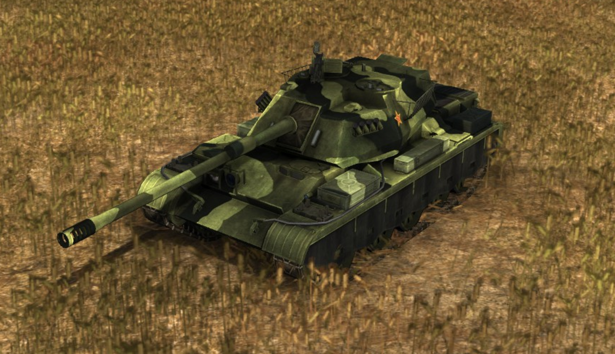 The original stealth reconnaissance tank, which continues to be very useful in China.