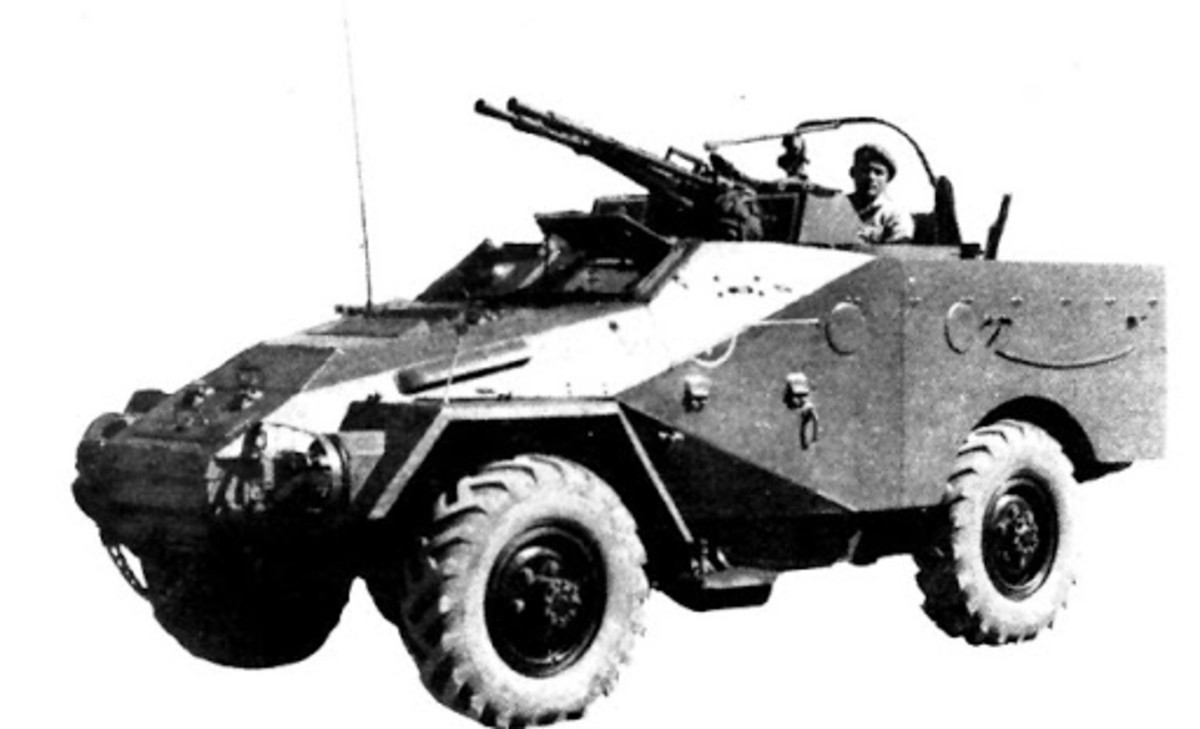 The Chinese version of the BTR-40A makes for a really useful light wheeled armored fighting reconnaissance vehicle