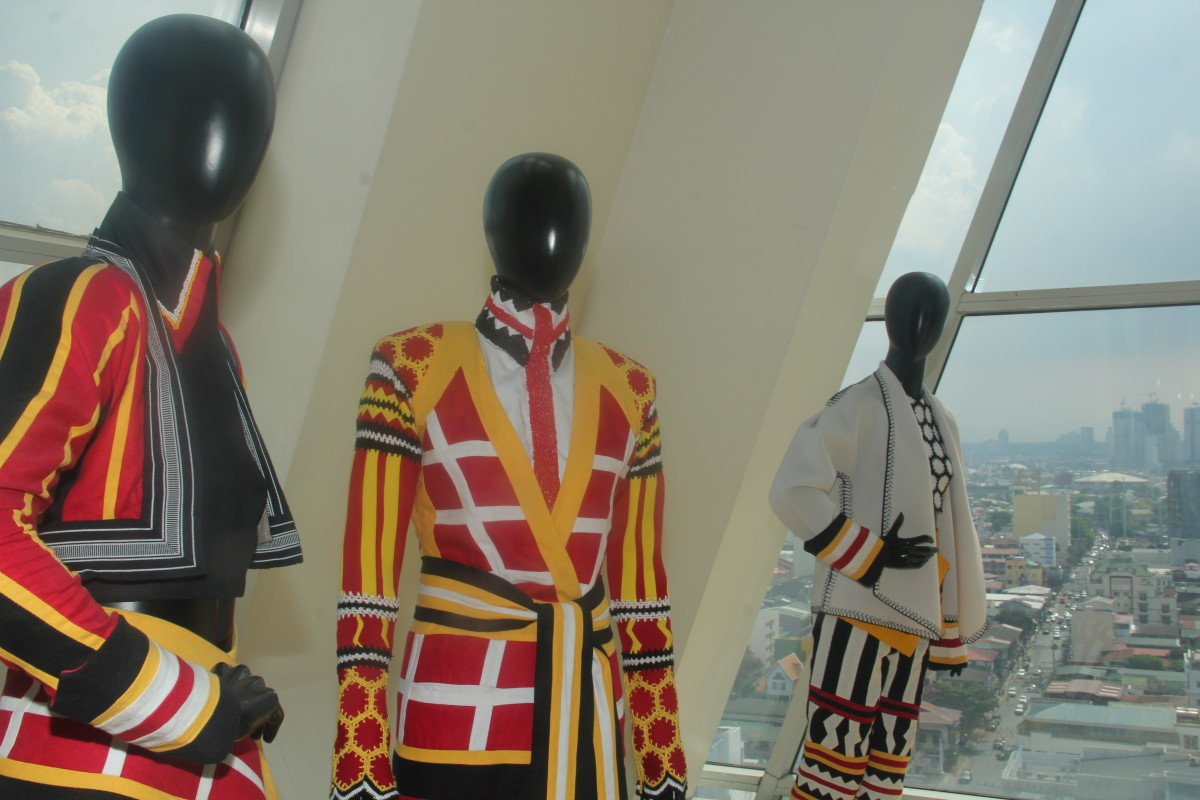 Every part of the building can be used for exhibits, like in this case which is a fashion design exhibit. (Photo by the author)