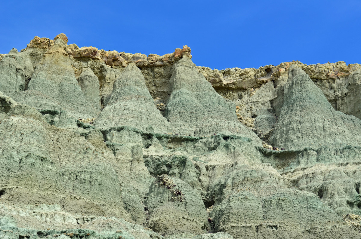 """Bell"" formation of some of the walls within the Blue Basin."