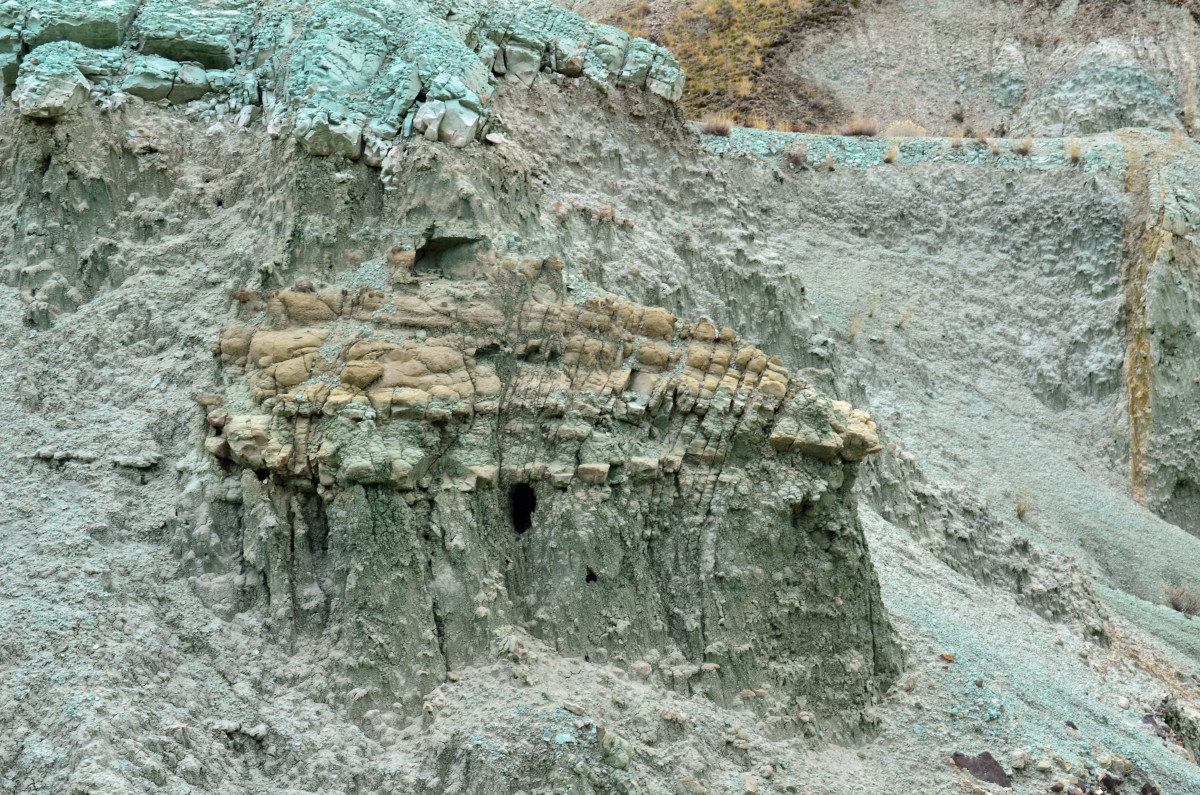 """The rock formation I coined the """"Birdhouse."""""""