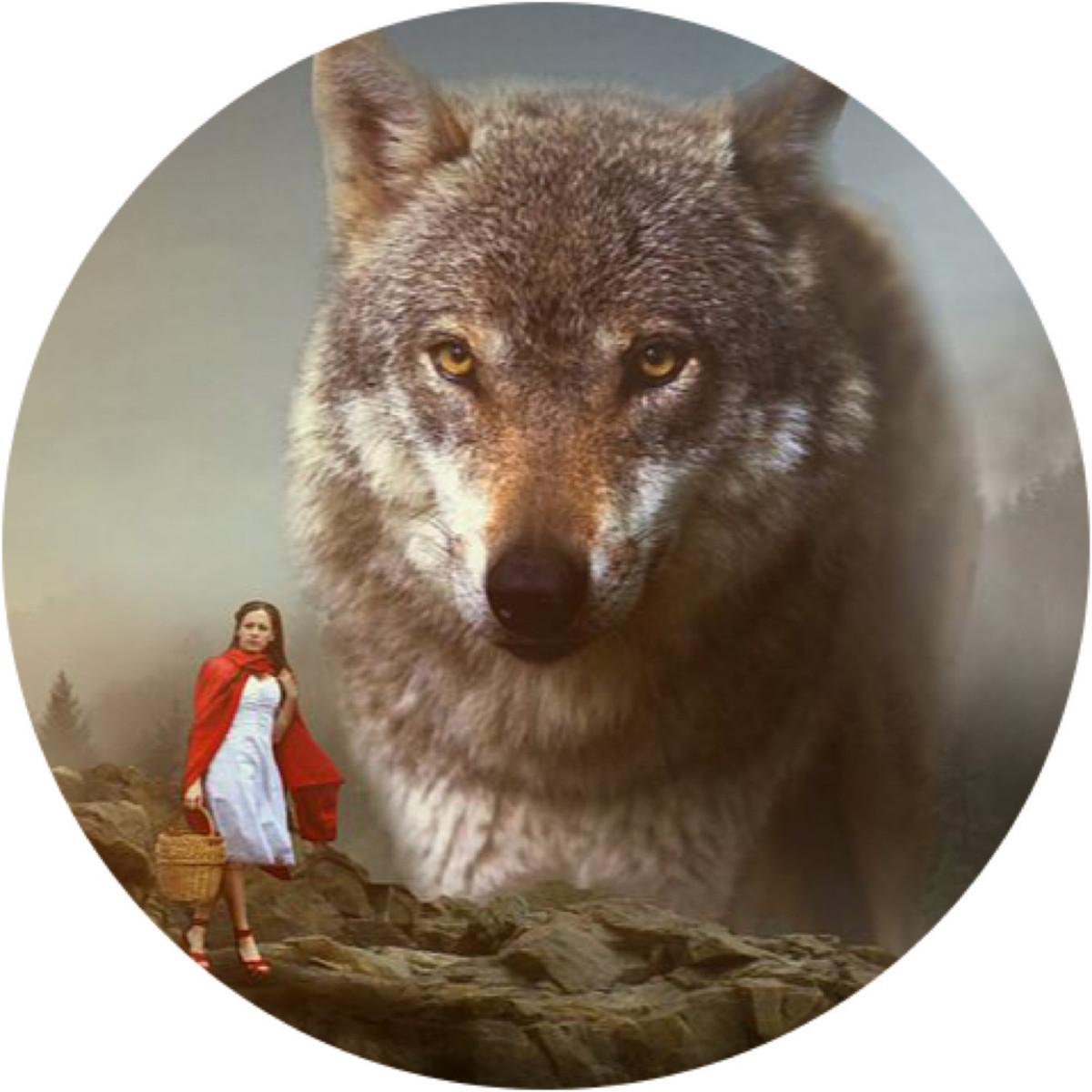 Narcissist and Little Red Riding Hood