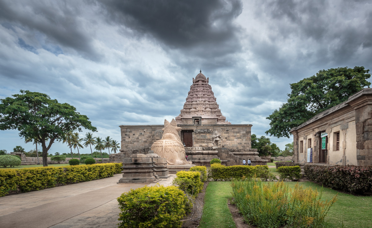 Gangaikonda Cholapuram is just one of many stunning temples in Tamil Nadu.